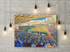 rugby park canvas a2 size